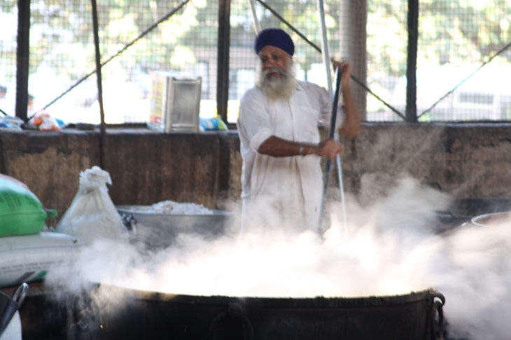 Amritsar, kitchen of the Golden Temple