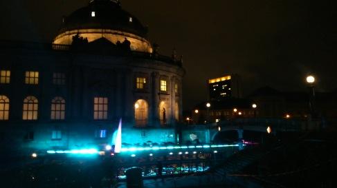 Het Bodemuseum tijdens Het Feest van het Licht