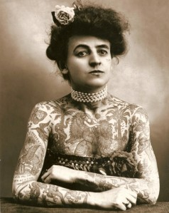 Maud Wagner. 1907.